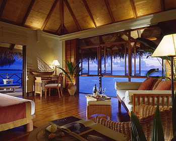 Dipping Its Feet Into The Crystal Waters Water Bungalows Have Fresh New Interiors With
